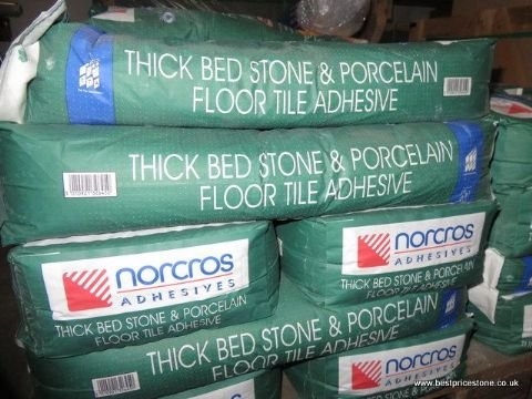 Norcros Thick Bed Porcelain & Stone Adhesive