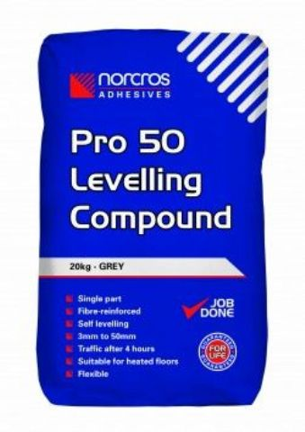 Norcros Pro 50 Levelling Compound