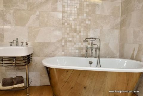 Bermuda Polished Marble Tiles