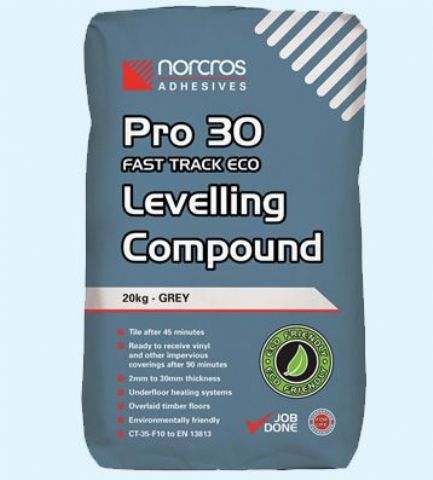 Norcros Pro 30 Fast Track Eco Levelling Compound