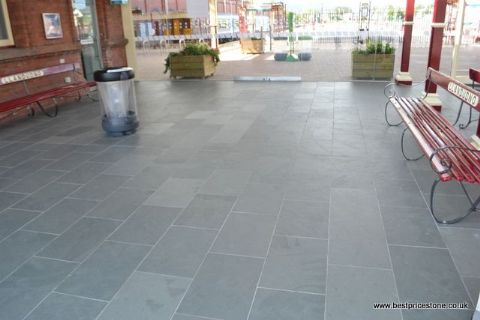 Brazilian Grey Green Natural Slate Floor And Wall Tile Best Price