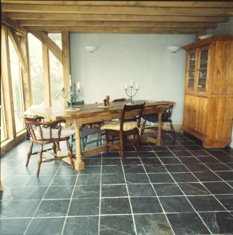 China Black Natural floor and wall slate