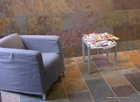 Rustic Multicolour Rustica Natural Floor Slate Best