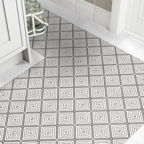 Johnson Monochrome 150x150mm Porcelain Tiles